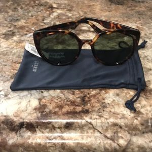 Oversized J Crew sunglasses